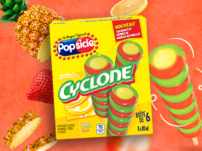Le Cyclone dont vous raffolez, aromatisé à l'ananas!